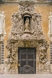 Doorway of Palacio del Marques de Dos Aguas