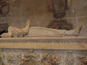 Here's Vasco: The crypt containing legendary explorer Vasco de Gama lies in Saint Jerome's Cathedral--along with Saint Jerome of course.
