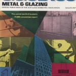 The August 1967 cover of USGlass magazine.