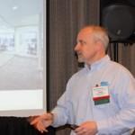 Doug DeRusha presents a seminar at Glass Expo Northeast '15.
